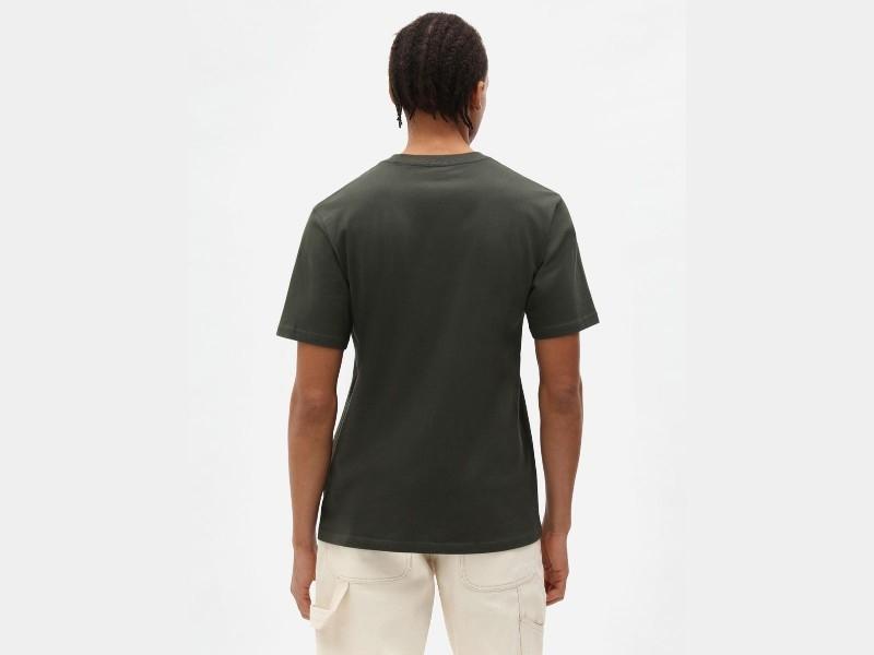 DICKIES Camiseta SS Mapleton T-Shirt Olive Green