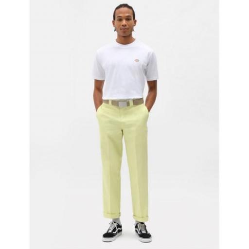 DICKIES Camiseta SS Mapleton T-Shirt White [3]