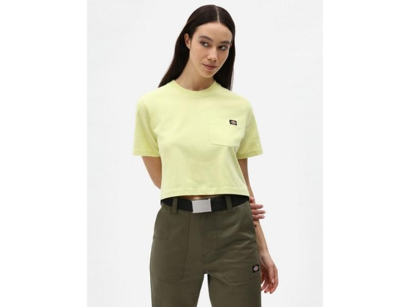 DICKIES Camiseta SS Porterdale Crop W Mellow Green
