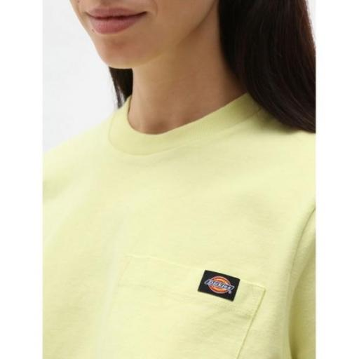 DICKIES Camiseta SS Porterdale Crop W Mellow Green [2]