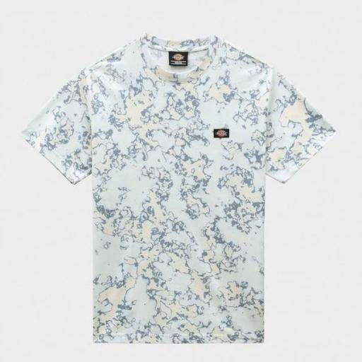 DICKIES Camiseta Sunburg Tee Fog Blue [2]