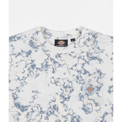 DICKIES Camiseta Sunburg Tee Fog Blue [3]