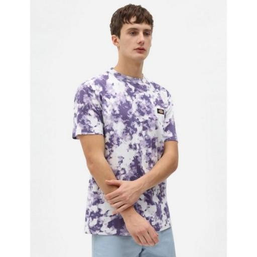DICKIES Camiseta Sunburg Tee Purple Gumdrop