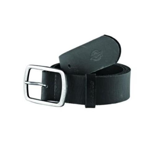 DICKIES Cinturón Eagle Lake Leather Belt Black