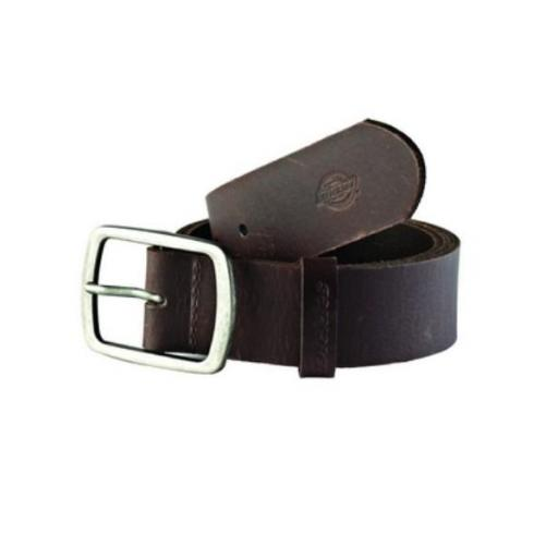DICKIES Cinturón Eagle Lake Leather Belt Brown