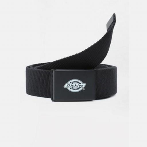 DICKIES Cinturón Orcutt Men Logo Buckle Belt Black [0]