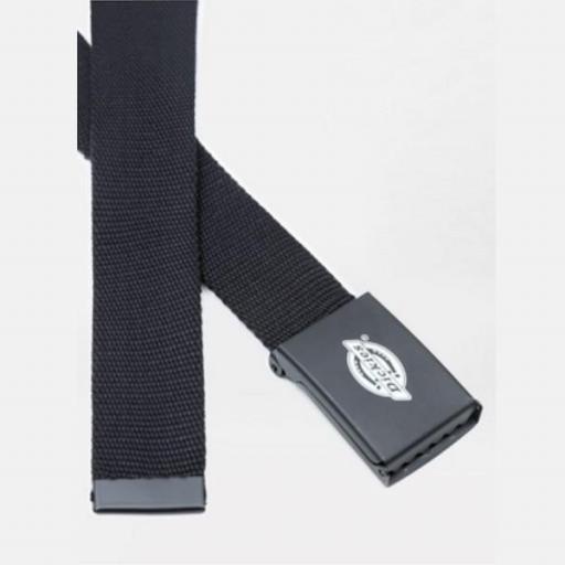 DICKIES Cinturón Orcutt Men Logo Buckle Belt Black [1]
