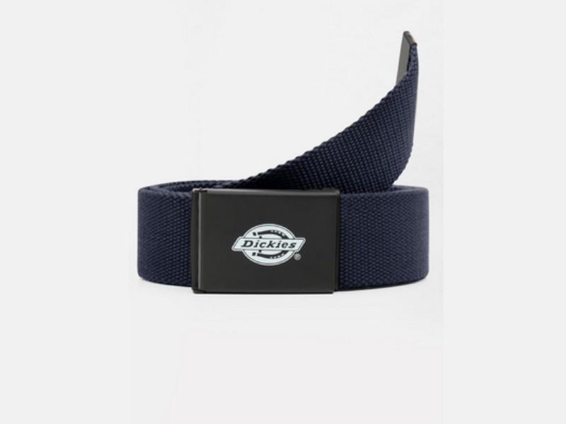 DICKIES Cinturón Orcutt Men Logo Buckle Belt Dark Navy