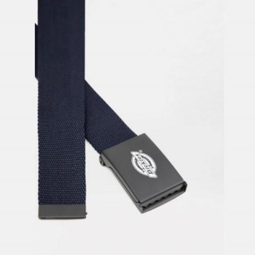 DICKIES Cinturón Orcutt Men Logo Buckle Belt Dark Navy [1]