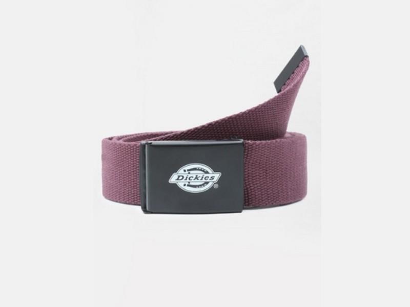 DICKIES Cinturón Orcutt Men Logo Buckle Belt Maroon