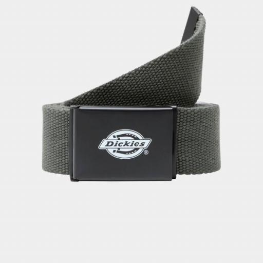 DICKIES Cinturón Orcutt Webbing Belt Olive Green [0]