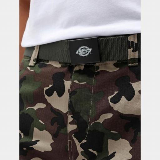 DICKIES Cinturón Orcutt Webbing Belt Olive Green [1]