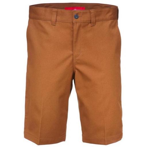 DICKIES Pantalón corto Industrial Work Short Brown Duck [1]