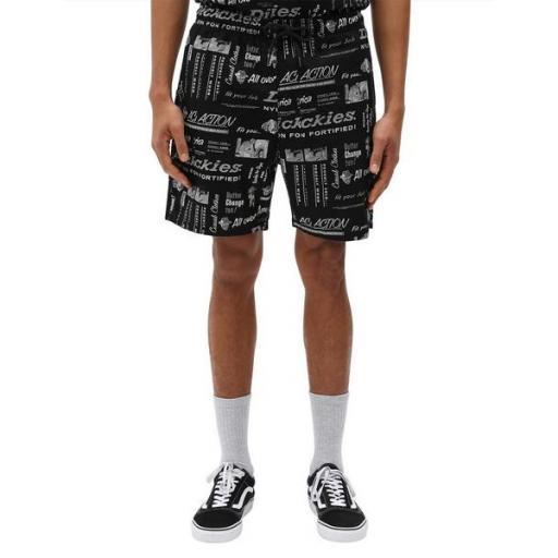 DICKIES Pantalón Pillager Short Black [1]