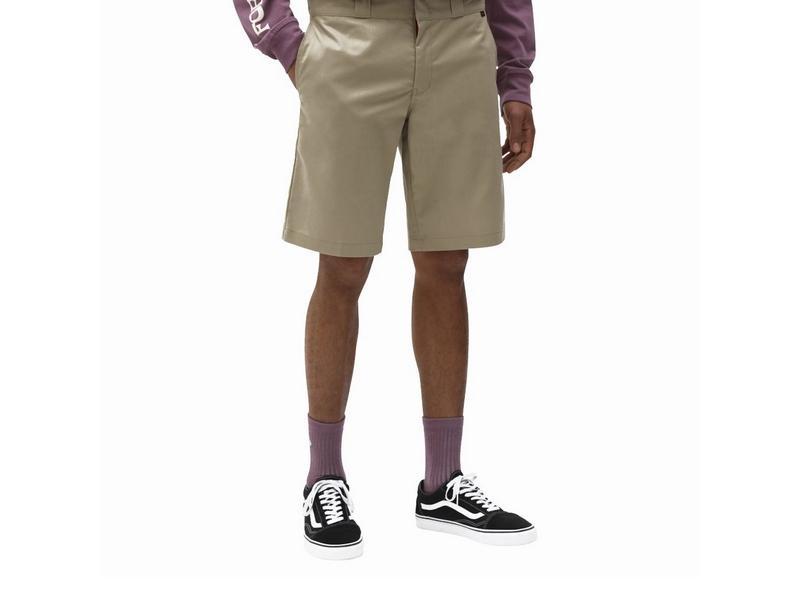 DICKIES Pantalón Slim STGT WkShort Flex Khaki