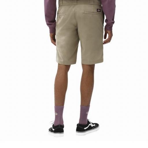 DICKIES Pantalón Slim STGT WkShort Flex Khaki [1]