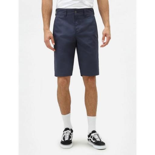 DICKIES Pantalón corto Industrial Work Short Navy Blue [2]