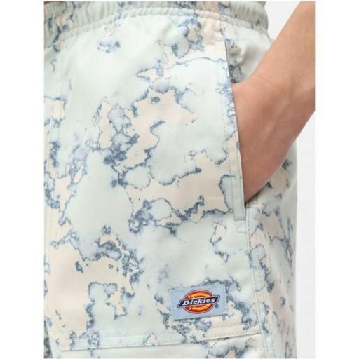 DICKIES Pantalón corto Sunburg Short W Fog Blue [1]