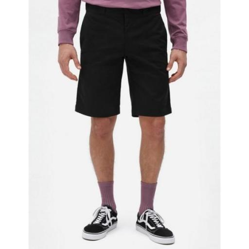 DICKIES Short Slim STGT WkShort Flex Black