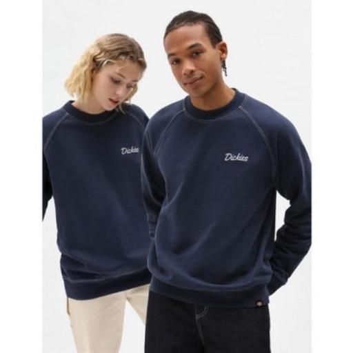 DICKIES Sudadera Halma Sweatshirt Navy Blue