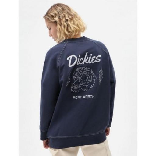 DICKIES Sudadera Halma Sweatshirt Navy Blue [2]