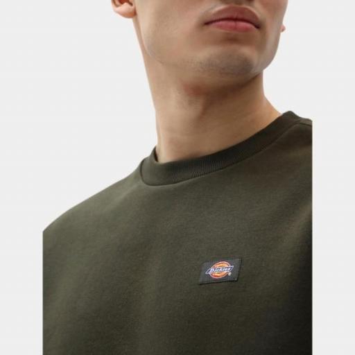 DICKIES Sudadera Oakport Sweatshirt Olive Green [3]