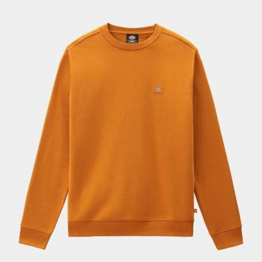 DICKIES Sudadera Oakport Sweatshirt Pumpkin Spice [3]