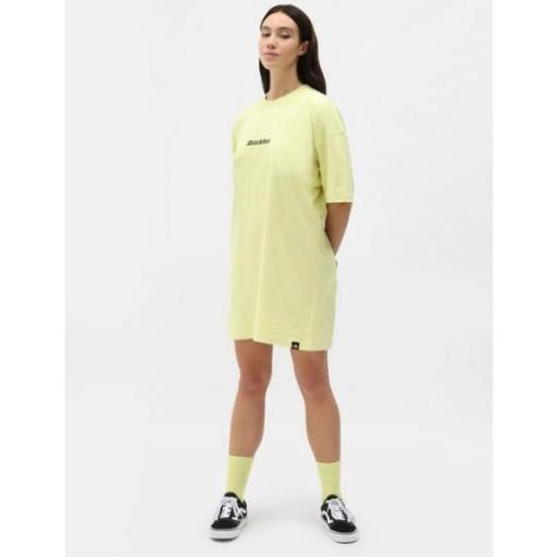 DICKIES Vestido Loretto Dress Mellow Green