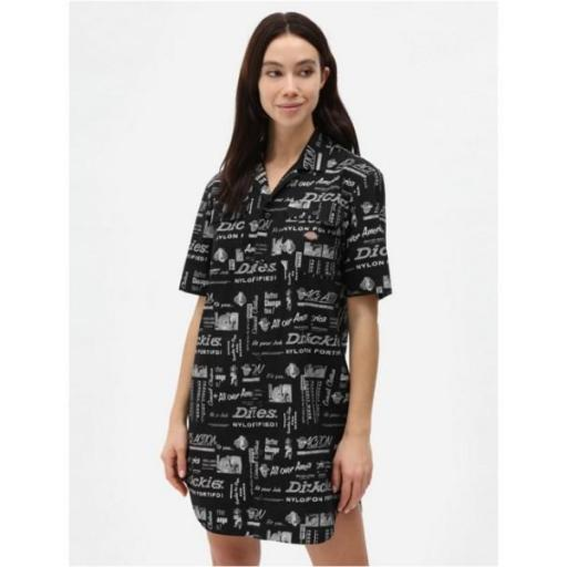 DICKIES Vestido Pillager Dress Black