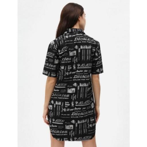 DICKIES Vestido Pillager Dress Black [1]