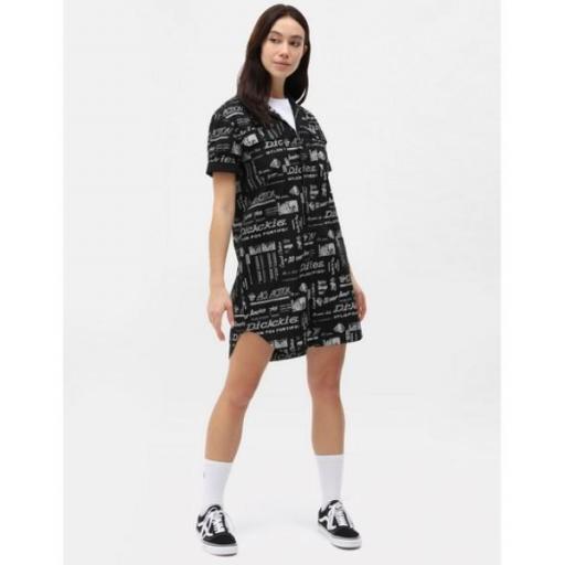 DICKIES Vestido Pillager Dress Black [3]