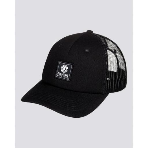 ELEMENT Gorra Icon Mesh Black