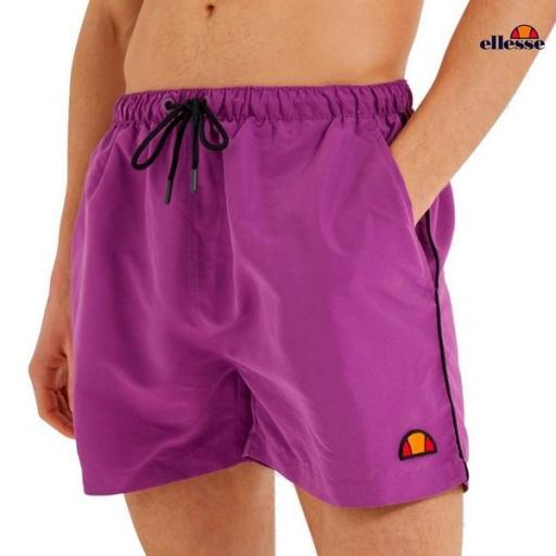 ELLESSE Bañador Dem Slackers Short Purple
