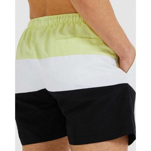 ELLESSE Bañador Masio Short Light Green White Black [1]