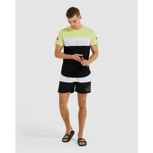 ELLESSE Bañador Masio Short Light Green White Black [3]