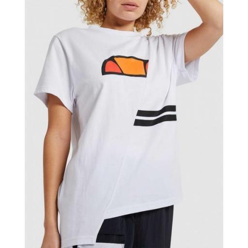 ELLESSE Camiseta Alibi Oversized T-Shirt White [3]