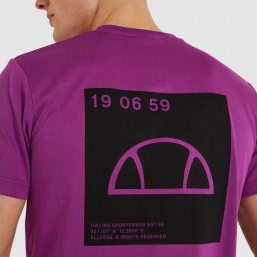 ELLESSE Camiseta Antako Tee Purple [3]