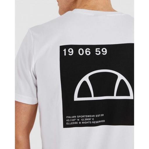 ELLESSE Camiseta Antako Tee White [1]