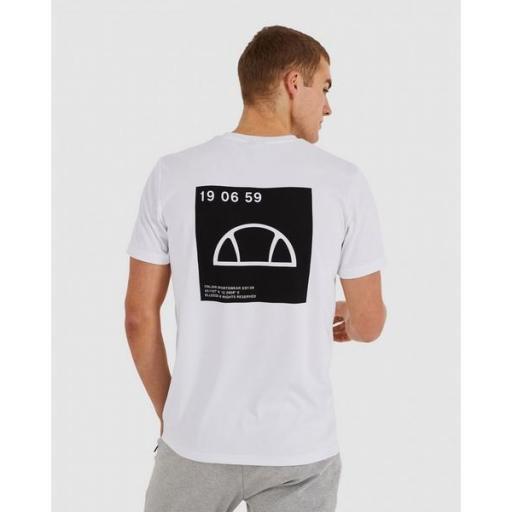 ELLESSE Camiseta Antako Tee White