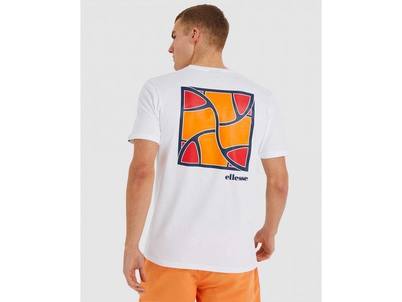 ELLESSE Camiseta Caciot Tee White