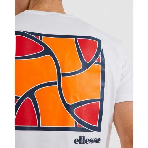 ELLESSE Camiseta Caciot Tee White [2]