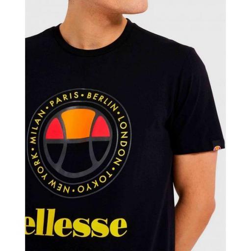 ELLESSE Camiseta Campa T-Shirt Black [2]