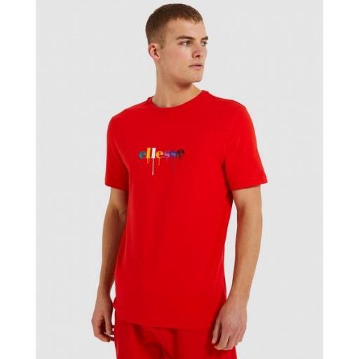 ELLESSE Camiseta Giorvoa Tee Red
