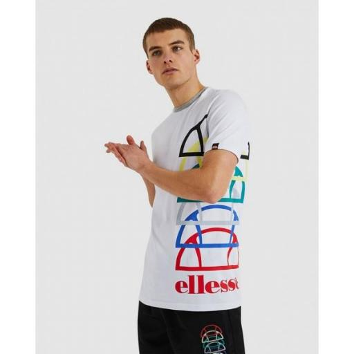 ELLESSE Camiseta Nurallo Tee White