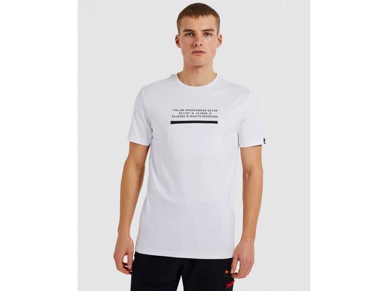 ELLESSE Camiseta Piedmont Tee White