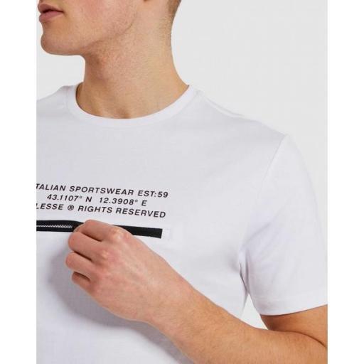 ELLESSE Camiseta Piedmont Tee White [2]