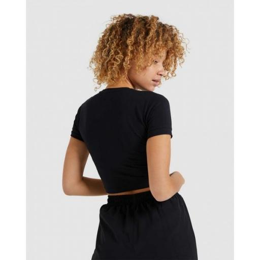 ELLESSE Camiseta Romancia Crop T-Shirt Black [1]