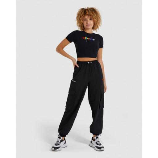 ELLESSE Camiseta Romancia Crop T-Shirt Black [3]