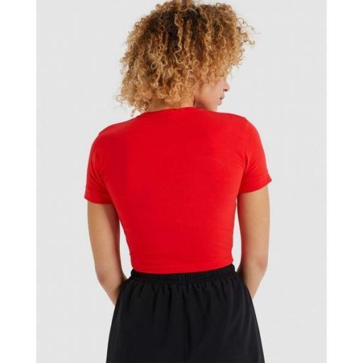 ELLESSE Camiseta Romancia T-Shirt Red [2]