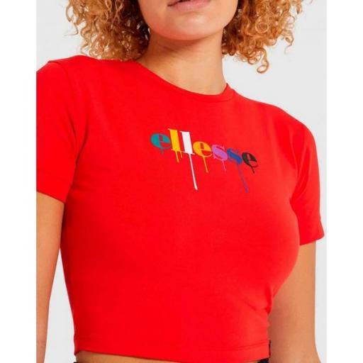 ELLESSE Camiseta Romancia T-Shirt Red [3]